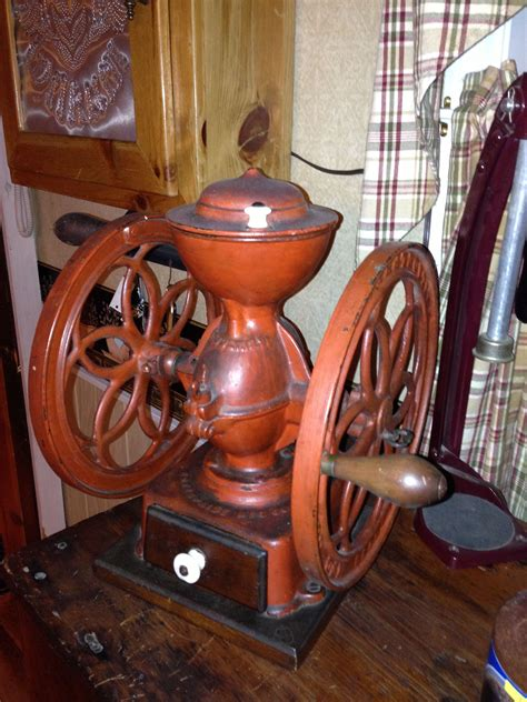 You need one tablespoon of coffee for every 8 ounces of water. Coffee grinder | Coffee grinder, Antique kitchen, Vintage antiques