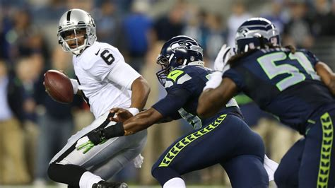 raiders  seahawks game time tv schedule