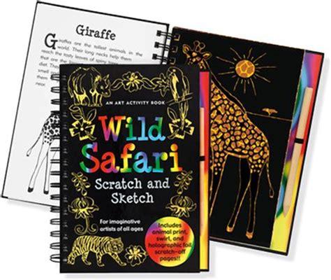 scratch sketch kids activity books kids drawing book peter pauper press