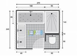 PLAN Plan Salle De Bain De 65m2 Modle Et Exemple D