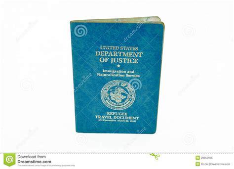 refugee travel document stock image image  justice