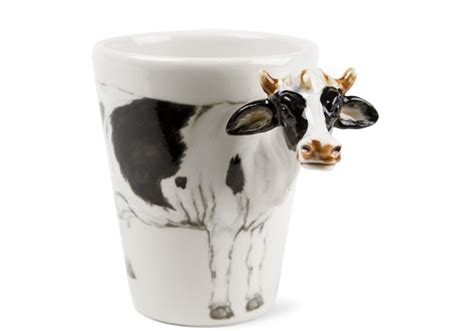 Browse our wide coffee mug collection to enjoy your favourite hot drink. Cow Handmade 8oz Coffee Mug by Blue Witch | CentralCrafts ® Est 1999