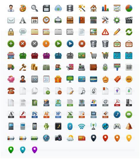 application toolbar icon set free png web icons