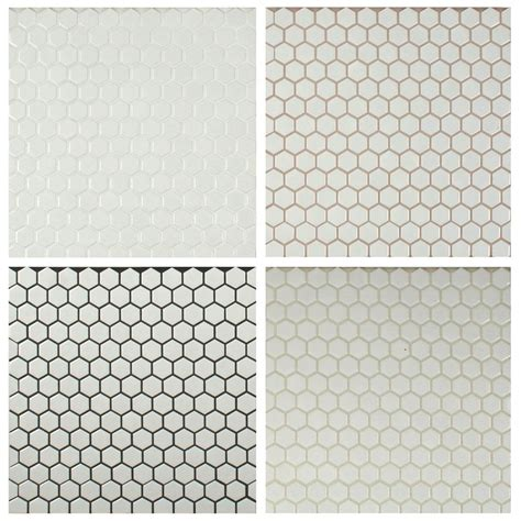 white hex floor tile be all about grout hexagons dark and tile