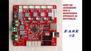 Anet A8 Fase 2 Montaggio E Istruzioni Ita  3d Printer