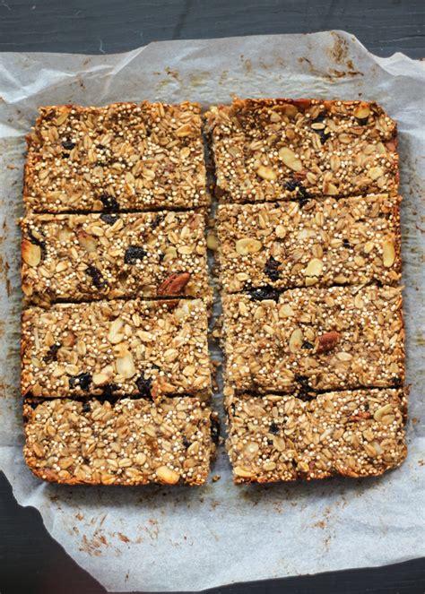 Healthy Seed Bar quinoa chia banana granola bars