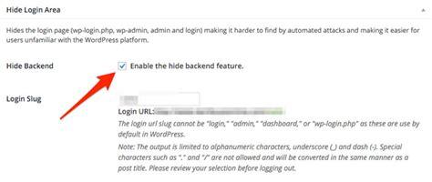 How To Change Your Wordpress Login Url?