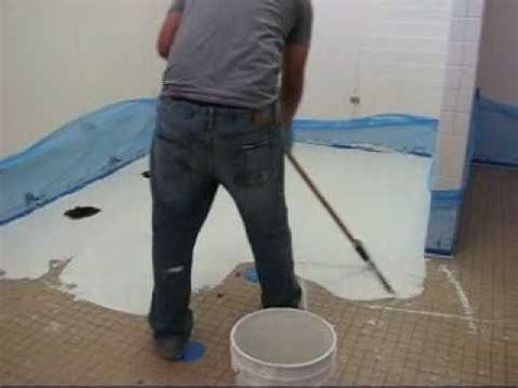Resurface Tile with Decorative Concrete   YouTube
