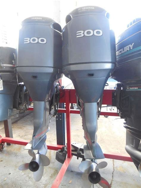 used yamaha 300 hp hpdi outboards pair ebay