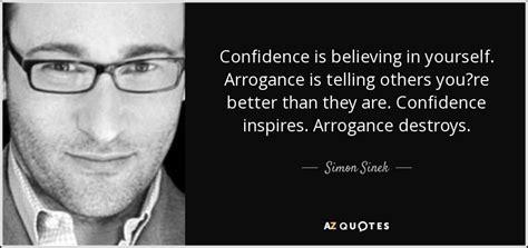simon sinek quote confidence  believing