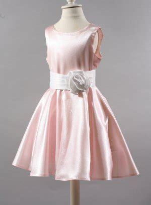 robe enfant pour mariage en satin du  mois au  ans
