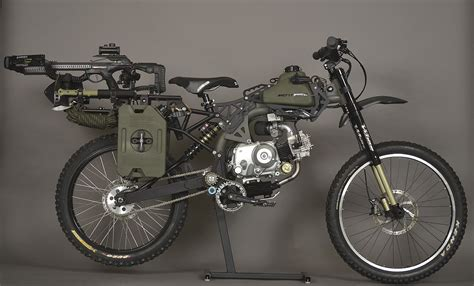 Motoped Launches Off-road Survival Moped