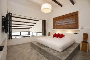 bedroom floor tropical villa