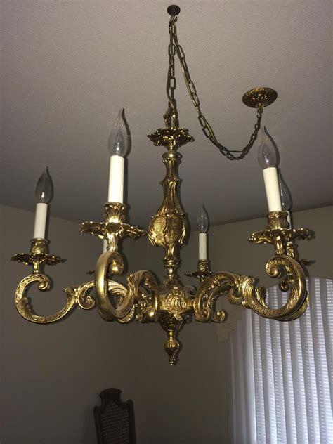 Antique Chandelier Appraisal by 15 Photos Brass Chandelier Chandelier Ideas