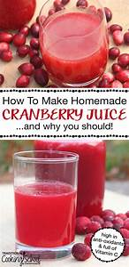 How To Make Homemade Cranberry Juice  U0026 Why You Should