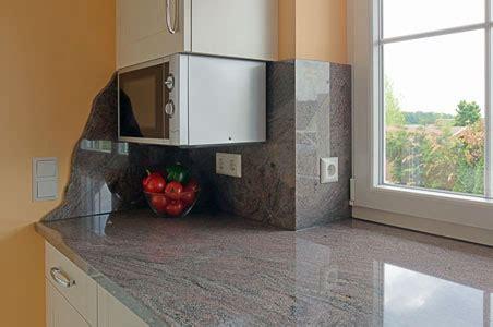 Granit Arbeitsplatten  Agglo + Naturstein Naumann