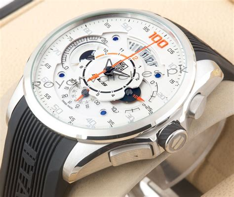 Our company has been successful in winning appreciation from the clients as one of the most prominent names in the trading of tag heuer wrist watch. Tag Heuer Grand Carrera Mercedes Benz Sls in Pakistan - Royal Watches Online Shop