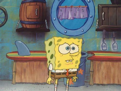 Original Spongebob Sad Face Cel Background Production