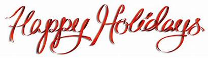 Holidays Happy Banner Holiday Text Safety Tips