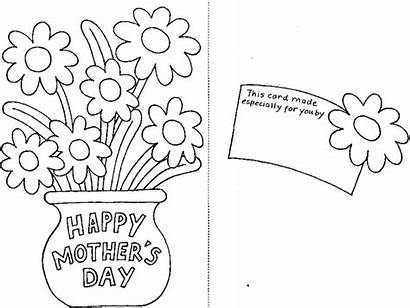 Coloring Mothers Mother Pages Printable Cards Disney