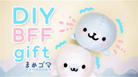 diy bff gift mamegoma plushie cute easy diy project