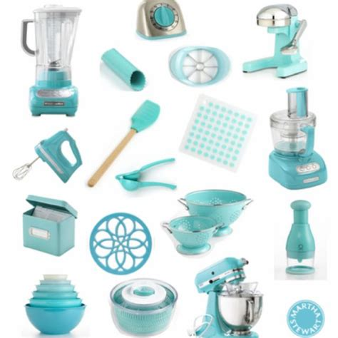 Turquoise Kitchen Accessories!  Home Is Where The Heart