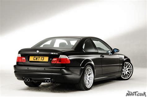 PistonHeads.com Studio Shoot Day Black BMW M3 CSL Rear Qua ...