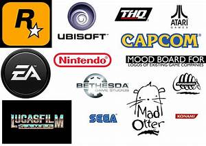 Bethany Mincher: Logos of game titles & gaming companies ...