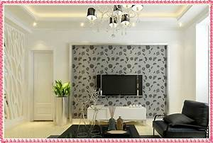 Wallpaper designs for living room modern house