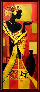 Black African Art | African woman 4 by =Tsabo6 on ...