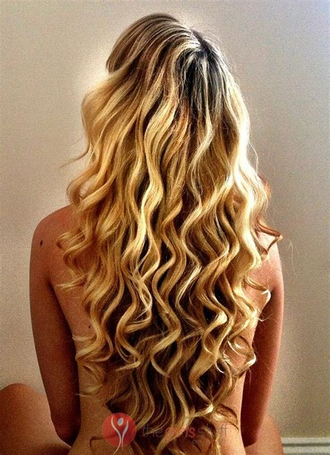 spiral perm hairstyles  long hair images  girls stuff