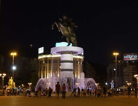 Macedonian Protesters Say No To Architectural Kitsch