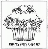 Muffin Cupcake Ausmalbilder Kostenlos sketch template