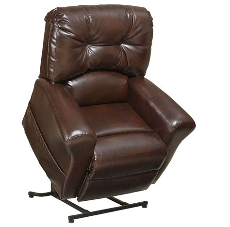 catnapper landon power lift chair in leather medicare lift