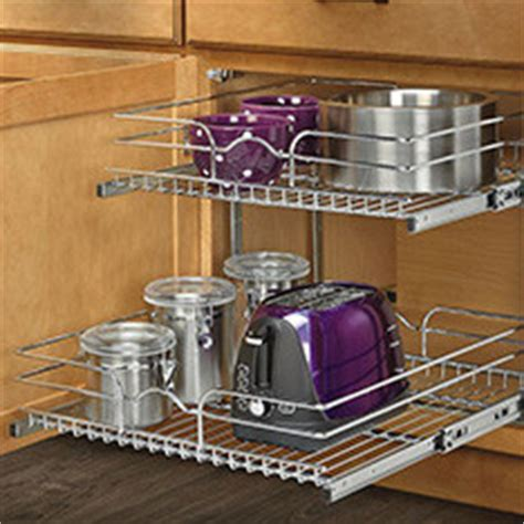 kitchen cabinet pan organizer shop kitchen organization at lowes 5647
