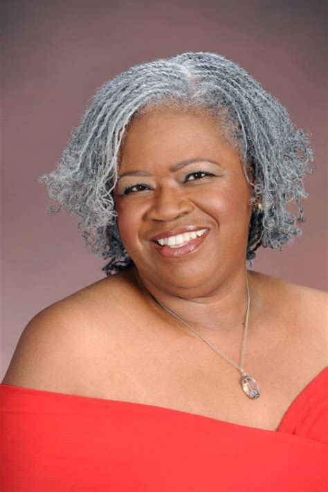 natural hairstyles with gray hair black women design
