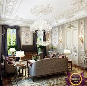 Luxury, Classic, Living, Rooms