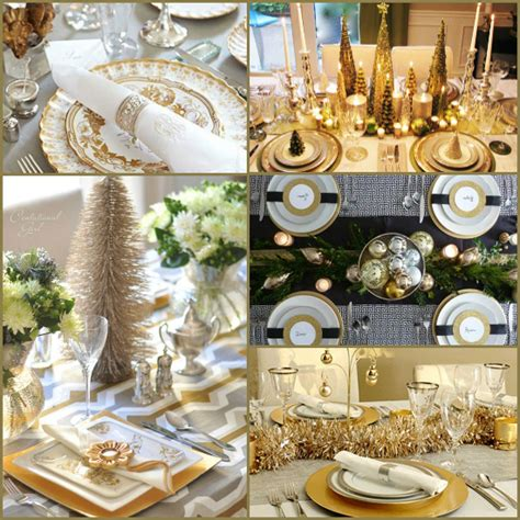 Christmas Table Settings Round-up
