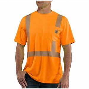 Men39s carharttr forcetm class 2 high visibility t shirt for T shirt bedruckt sprüche