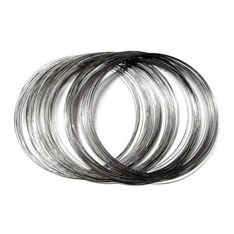 steel memory wire mm necklace sara