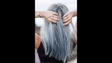 cheveux gris jarrete de colorer mes cheveux youtube