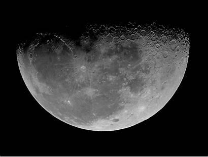 Moon Animated Gifs Night Space Earth Lunar