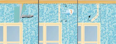poser du tissu mural papier peint