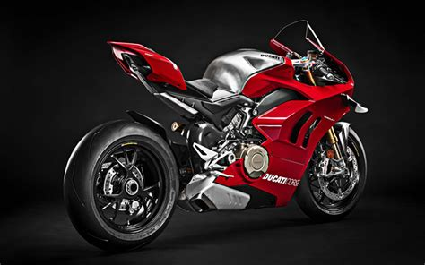 Ducati Multistrada 4k Wallpapers by Wallpapers 4k Ducati Panigale V4 R Side View