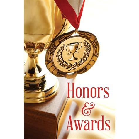 Honors & Awards Bulletin - Fuchs and Mateja Church Supply