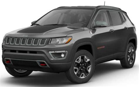 2017 Jeep Compass Trailhawk Color Options