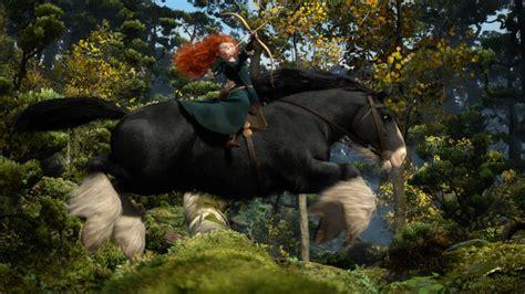 disney brave princess merida scenes angus forest scene princesses film movies horse pixar toys frog tiana animated dolls movie through