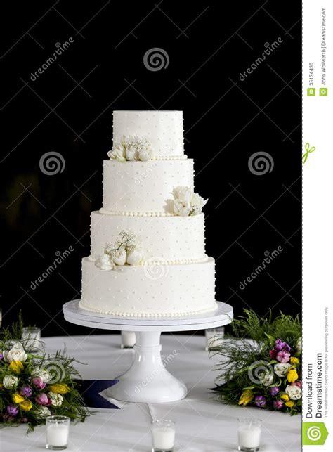 tiered wedding cake stock photo image  confection