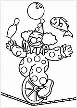Circus Coloring Pages Simple Printable Children Sheet Theme Onlinecoloringpages Thematic sketch template