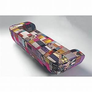 canape patchwork canape 2 3 ou 4 places motif patchwork With tapis oriental avec canapé 2 places patchwork